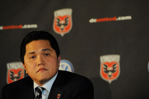 Erick Thohir has shares in MLS side DC United and NBA club the Philadelphia 76ers
