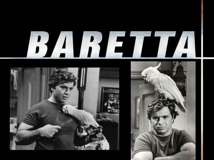 """FALANDO EM SÉRIE: """"BARETTA"""" (1975) - O DETETIVE DA CACATUA FRED..."""