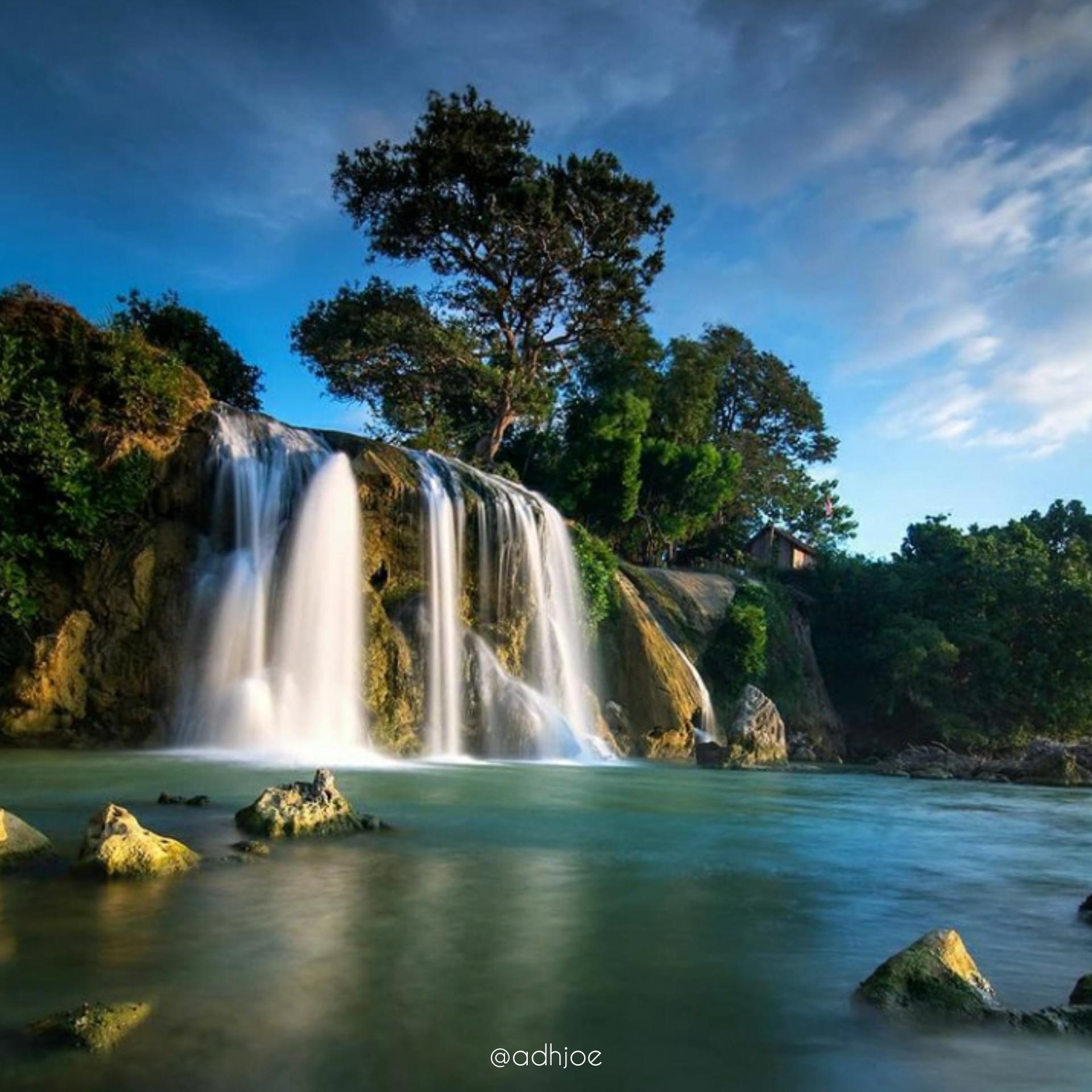 keindahan Tempat wisata Air Terjun Toroan di sampang jawa timur