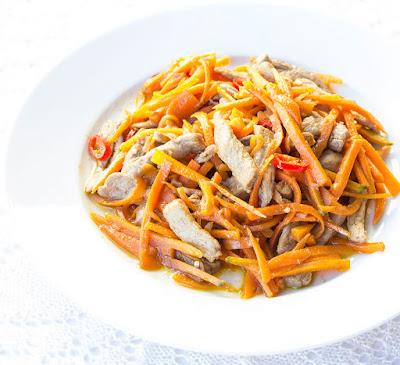 Chinese food - Yuxiang pork