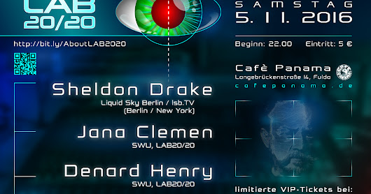 Lab20/20 featuring: Sheldon Drake - Nov.5th!