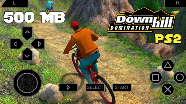 500 MB Downhill Domination PS2 ISO File Highly Compressed File 