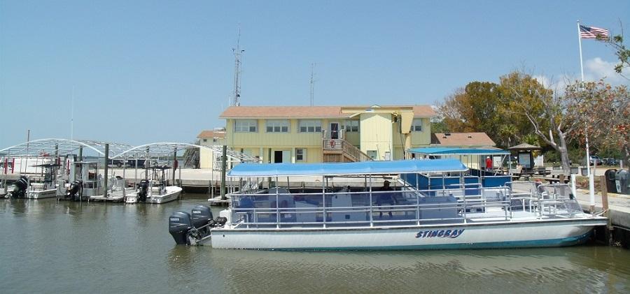 Ranger Station y marina en el Everglades National Park