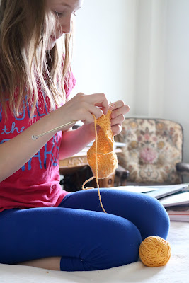 Rhythm in the homeschool is just like knitting one stitch at a time until our project is complete. Just like each stitch we make moves us forward, each day we complete moves us forward.