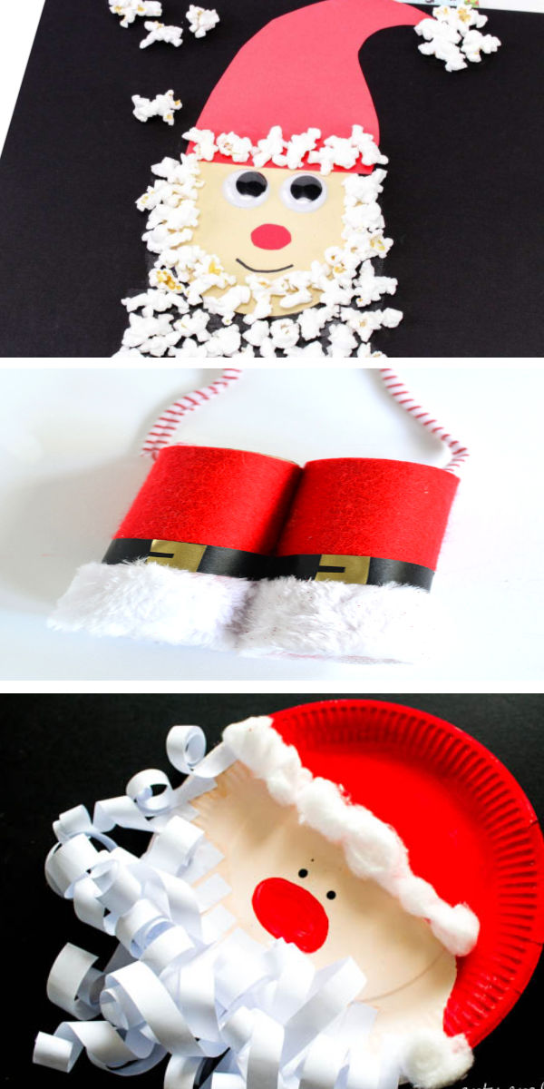 Santa Claus crafts and activities including how to make salt dough hand print keepsakes for Christmas. Recipe for kids Make hand print ornaments for Christmas using this easy salt dough recipe.  #saltdoughkeepsakes #saltdoughkidscrafts #saltdoughhandprints #saltdoughsantahandprint #handprintcrafts #saltdoughrecipe #saltdoughornaments #ornamentclayrecipe #ornamentclay #christmascrafts #growingajeweledrose #activitiesforkids