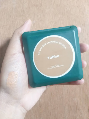 REVIEW LUXCRIME SECOND SKIN LUMINOUS CUSHION - TOFFEE