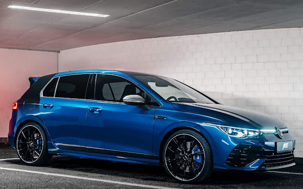 VW Golf R Mk8 ABT chega com 385 cv e 470 Nm de torque - fotos e detalhes
