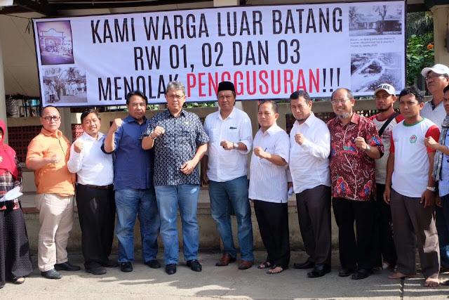 Luar Batang Digusur, Bang Sani : Pemprov DKI Tidak Punya Rencana Matang
