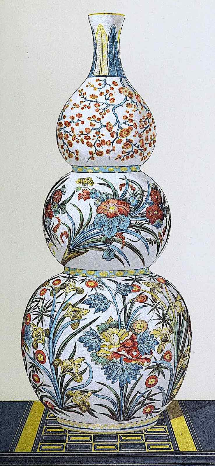1882 Japan, a vase