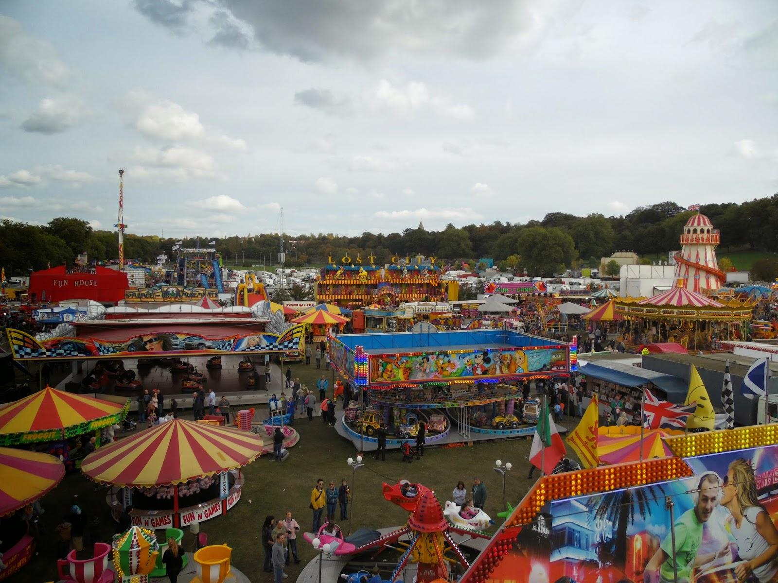 Goose Fair à Nottingham