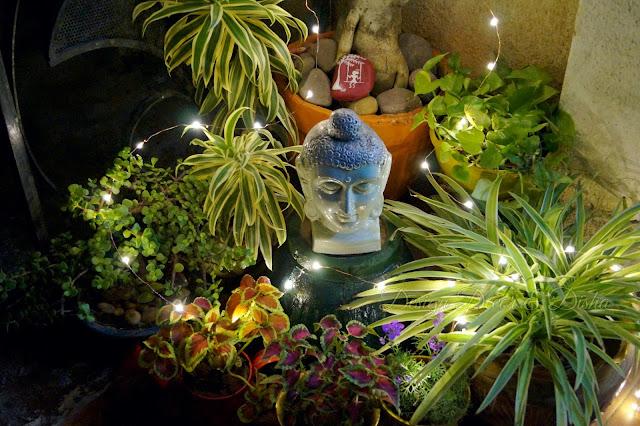 Zen Corner in Balcony