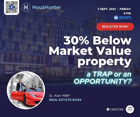 HouzHunter: 30% BELOW MARKET VALUE PROPERTY; A TRAP OR AN OPPORTUNITY?
