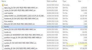 delete fwinfo.xml file