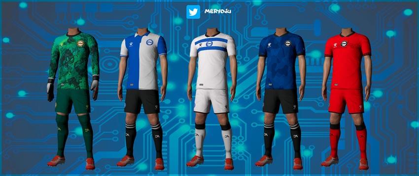 Deportivo Alavés Kits 2021-22 For eFootball PES 2021