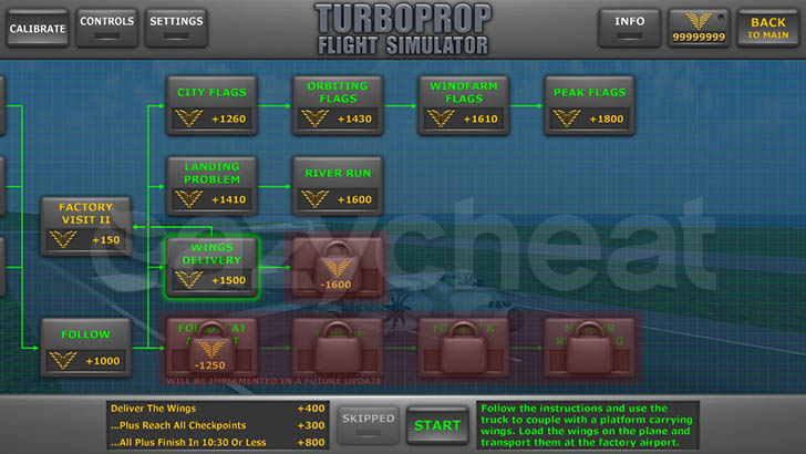 Turboprop Flight Simulator 3D 1.24 Unlimited Coins Unlimited Coins