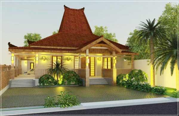 rumah idaman sederhana di desa
