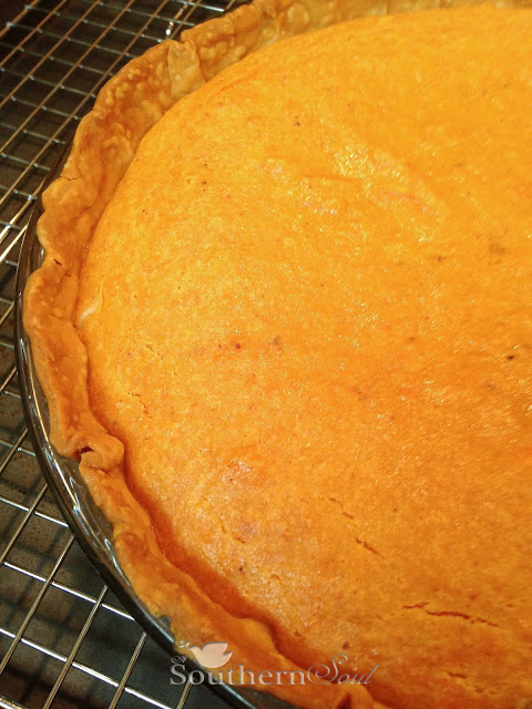 Sweet Potato Pie from A Southern Soul