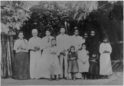 Los Sanchez Torres Febrero 1915
