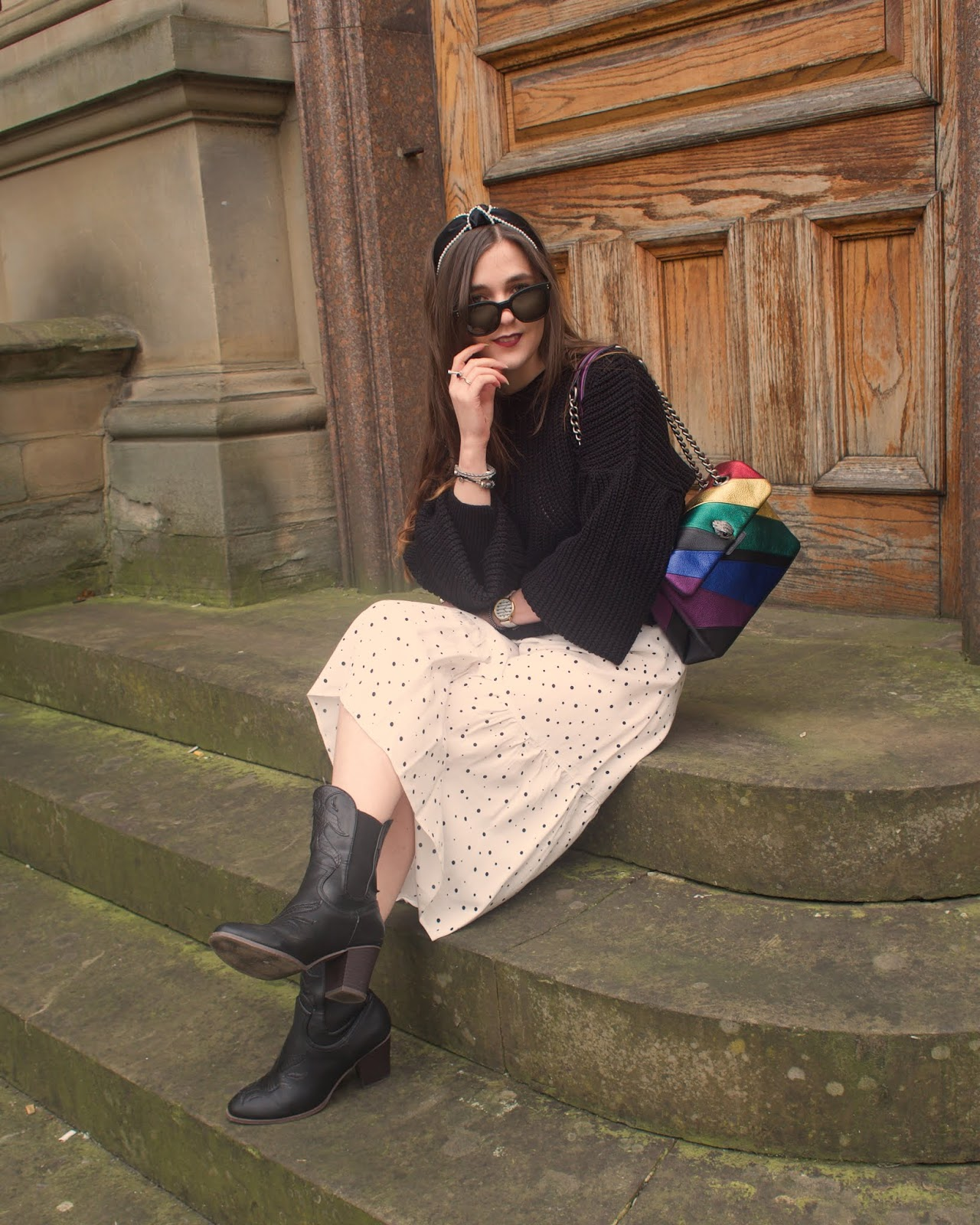 rainbow kurt geiger bag