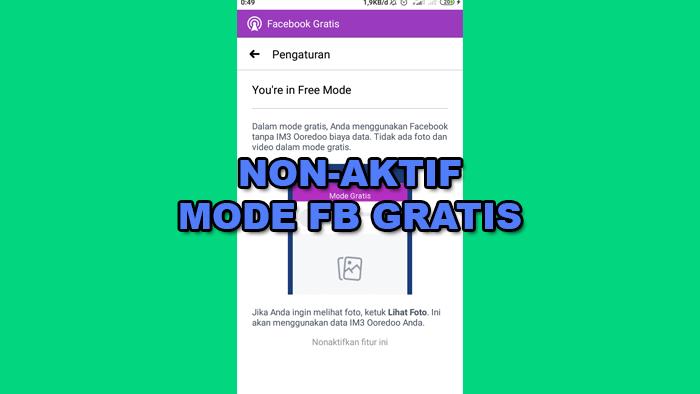 10 Cara Menghilangkan Mode Gratis Di Aplikasi Facebook Hp Android Cara Daftar Buat Bikin Baru