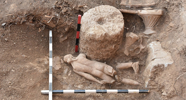 Sculptures found in ancient city of Pisidia Antiokheia
