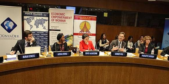 GYV women panel at the UN