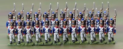 French infantry for Waterloo