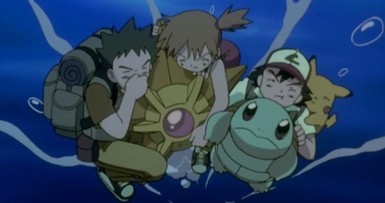 Ash e Amigos no Fundo do Mar Filme 01
