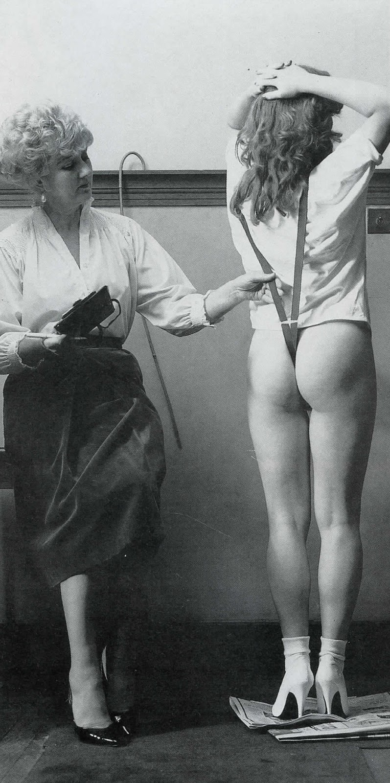 Girls punished spanked tits stories