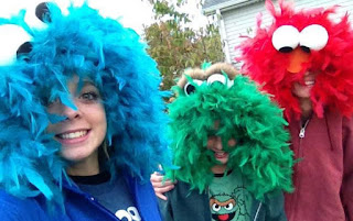 cookie monster elmo halloween costume costumes idea