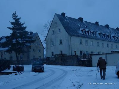 Χειμώνας στο Μύνχμπεργκ της Γερμανίας / Winter in Münchberg, Germany