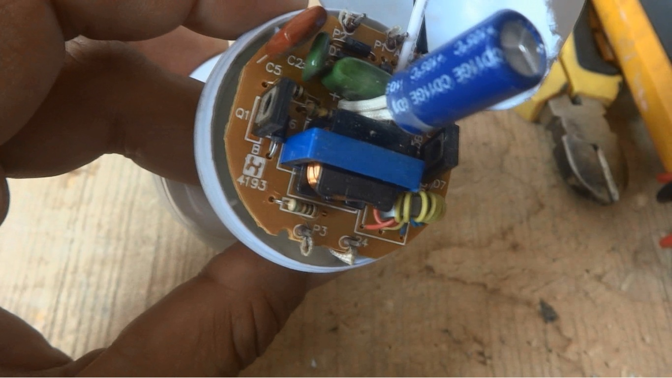 Carefully look at the circuit and look for any burning mark or any burnt or  broken component.