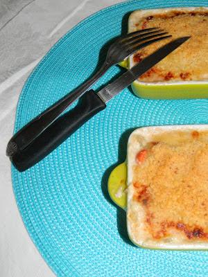 crumbles de st jacques, noix de saint jacques, fondue de poireaux, crème de poireaux