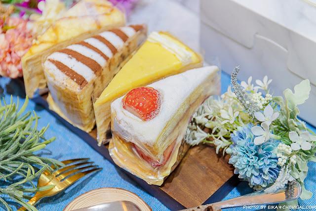 MG 7162 - 熱血採訪│台中人氣千層蛋糕12/19新開幕!百元就能品嚐美味千層,還有限定草莓千層新發售!