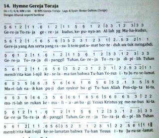 Hymne Gereja Toraja