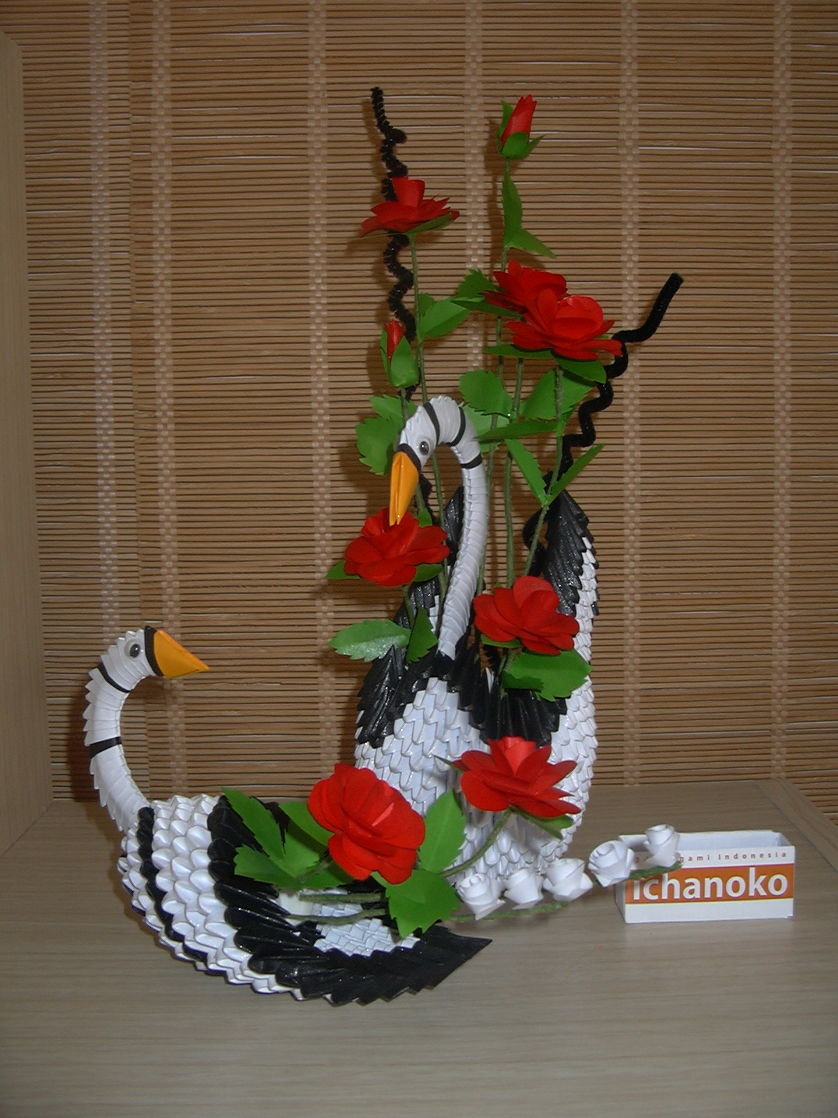 ICHANOKO 3D ORIGAMI INDONESIA: Model 3d origami - DECORATION - photo#43