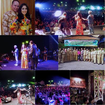 Artis Penyanyi Dangdut  Acara Pesta Rakyat