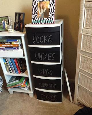 creative storage dorm room