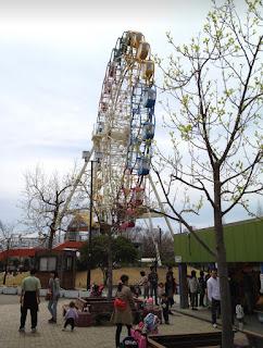 安城 堀内公園の観覧車