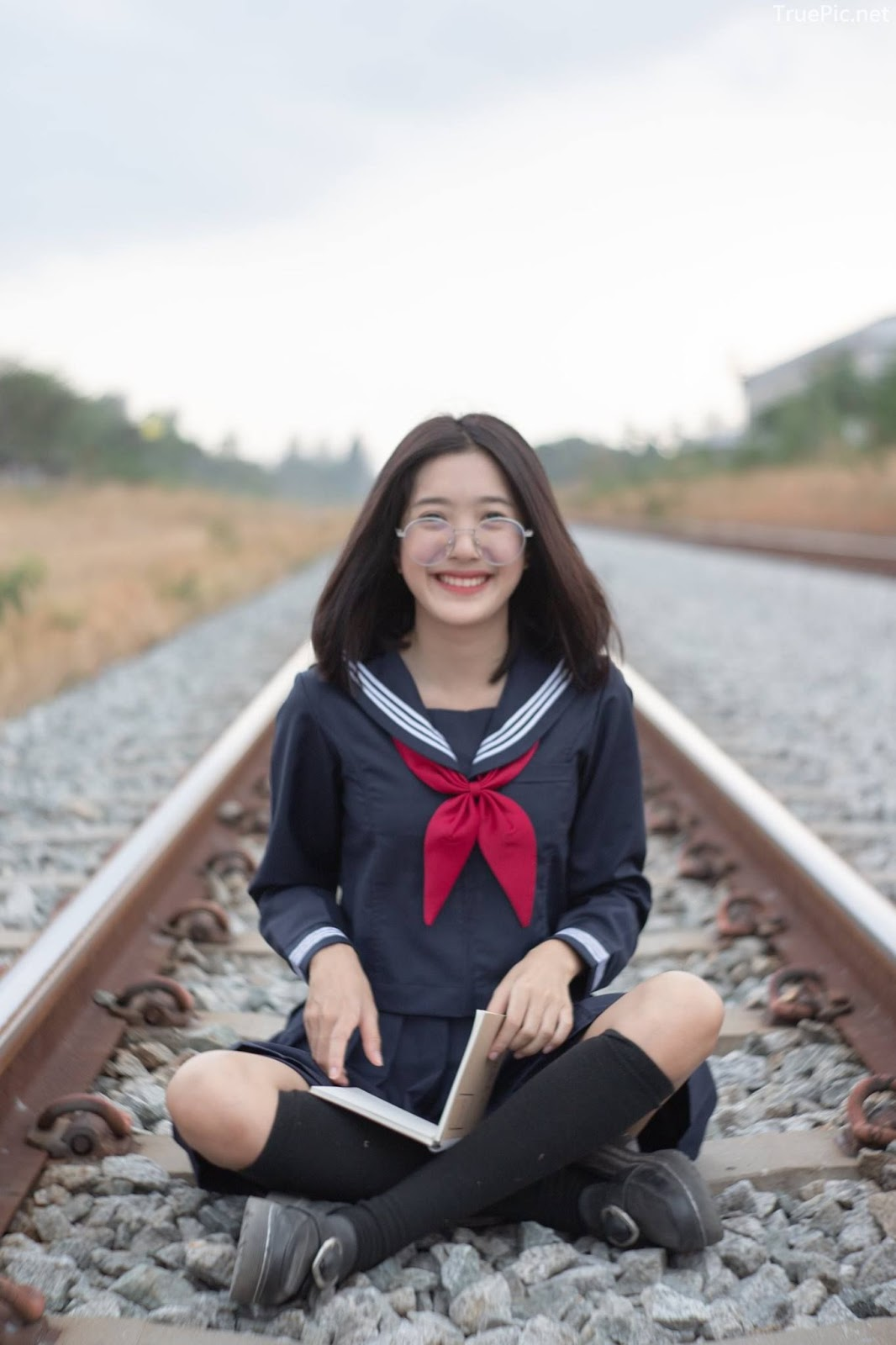 Hot girl Thailand Purewarin Kosiriwalanon - Cosplay Little Playful School Girl - Picture 20