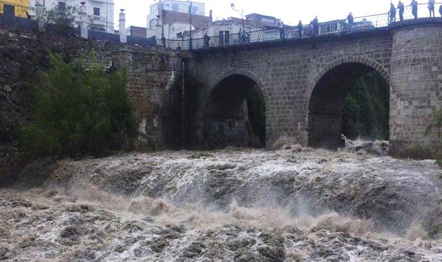 Alerta por aumento del caudal del río Chili