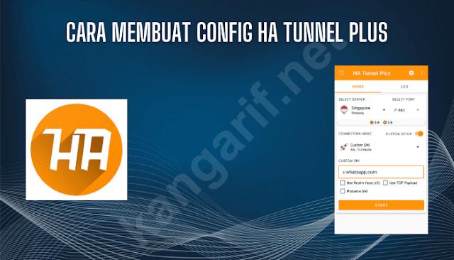 cara membuat config ha tunnel plus