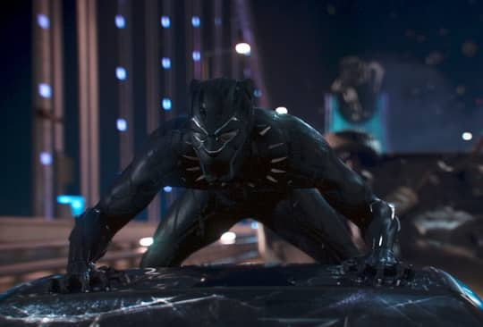 FIRST MOVIE TO BE SHOWN IN RIYADH AMC THEATER IS BLACK PANTHER