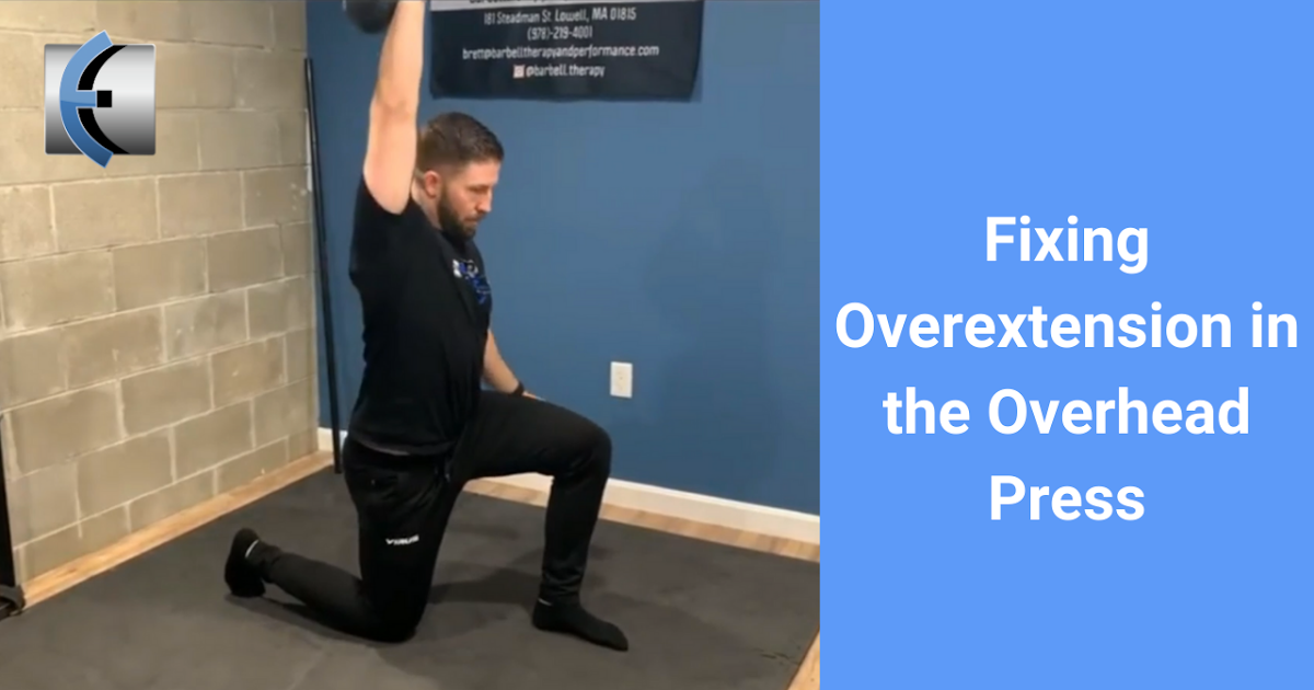 Photo of Top 4 Fridays! 4-step progress to correct over-stretch in the air press | Modern Manual Therapy Blog