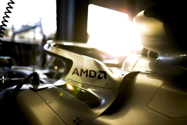 Ferrari perde patrocínio da  AMD para a Mercedes-AMG