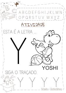 Atividades letra Y