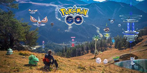 Pokemon Go made by Unity