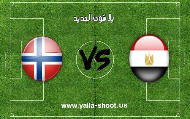 اهداف مباراة مصر والنرويج كرة اليد اليوم 20-1-2019 مونديال كأس العالم لليد