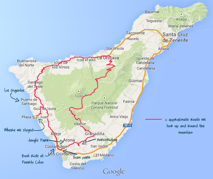 Our Honeymoon in Tenerife Part 1: Sun, Sea and Sangria