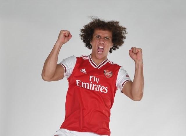 David Luiz Completes Arsenal Move, Iwobi Joins Everton